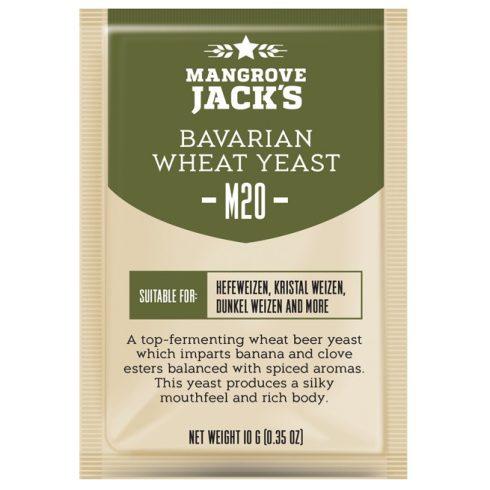 Mangrove Jack's Bavarian Wheat Élesztő M20