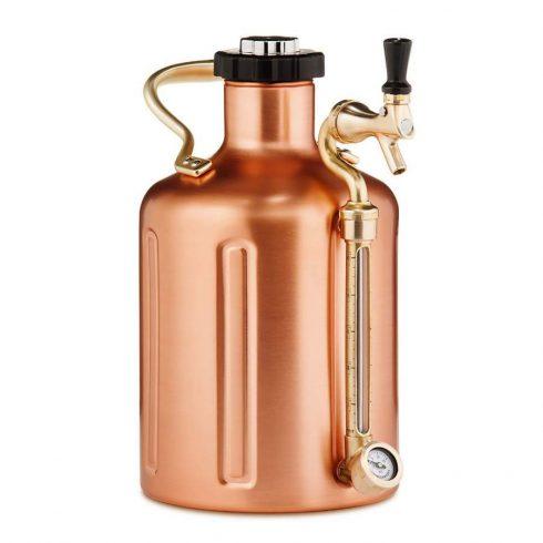 Mini keg 5l  Copper 128 oz