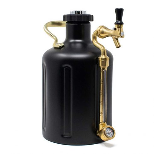 "Mini keg 5l  ""Matte Black"""